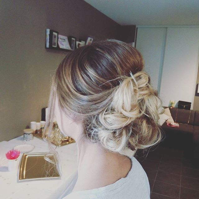 Yael coiffure ^_^ #coiffure #mariage #wedding #hairstyle #hairstyle