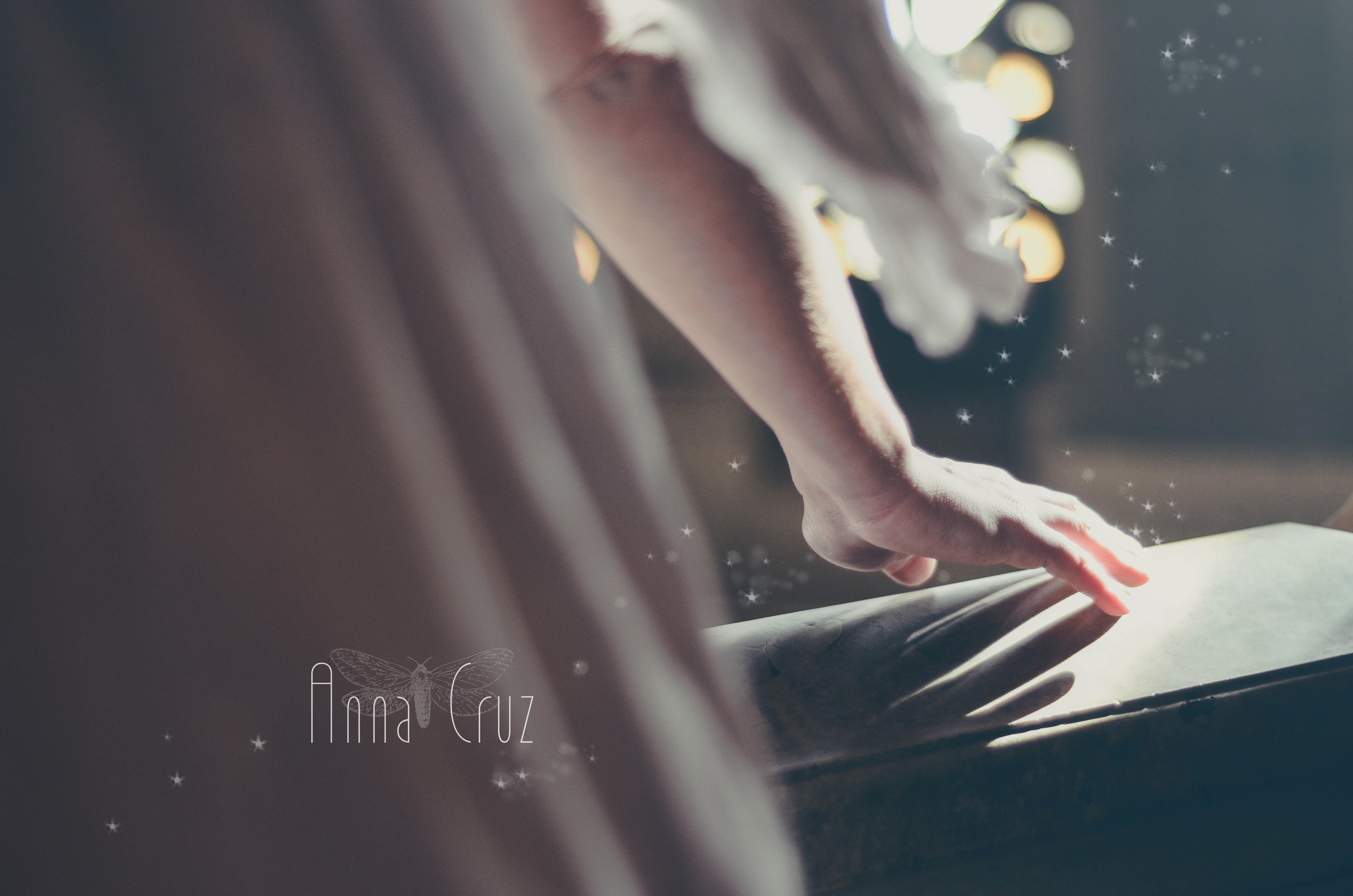 """Un ange"" par Anna Cruz"