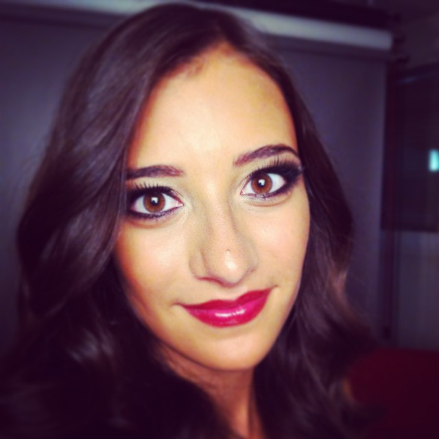 Ma jolie modèle 2 du jour ! #makeup #maquillage#happy#job#haircutmakeup