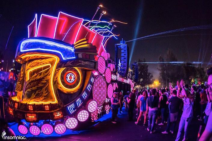 Art Car Hosts Announced For EDC Las Vegas 2018