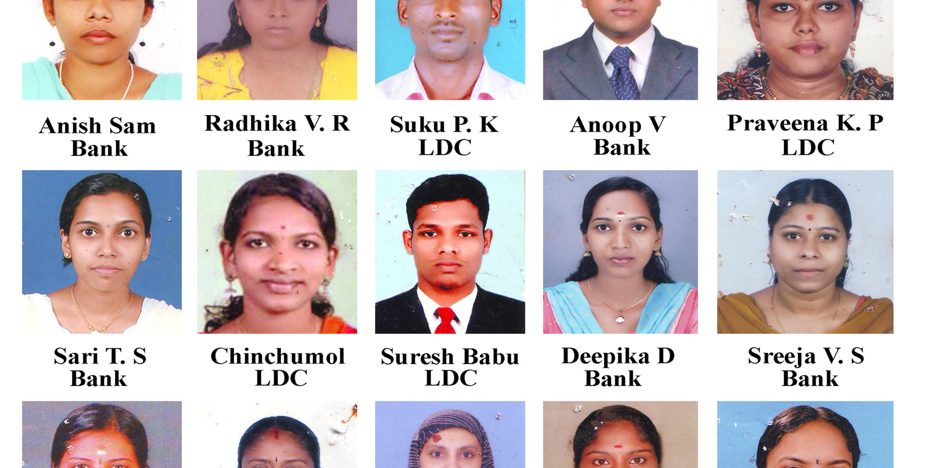 Seshan's : PSC/SSC/Bank Results