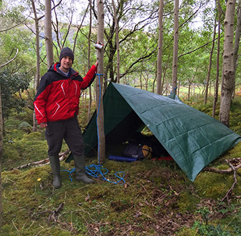 Learn Tarps Knots Bushcraft Courses