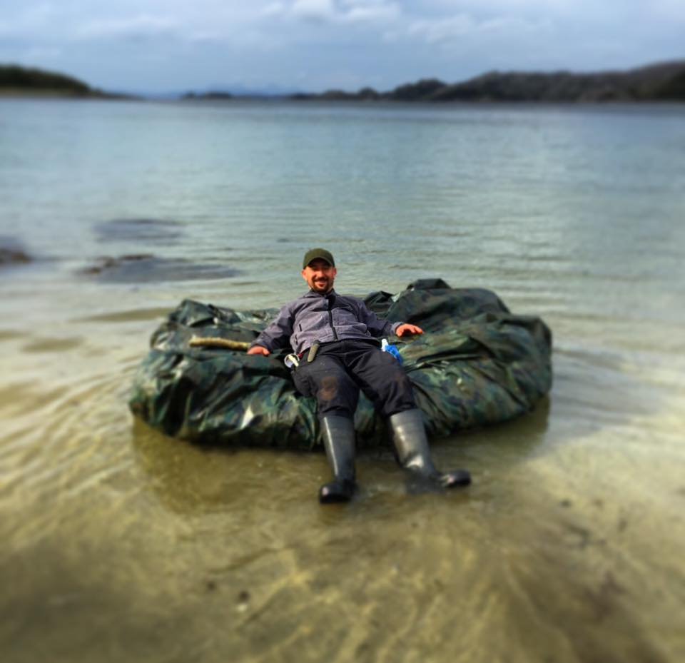 raft Island Survival course Scotland