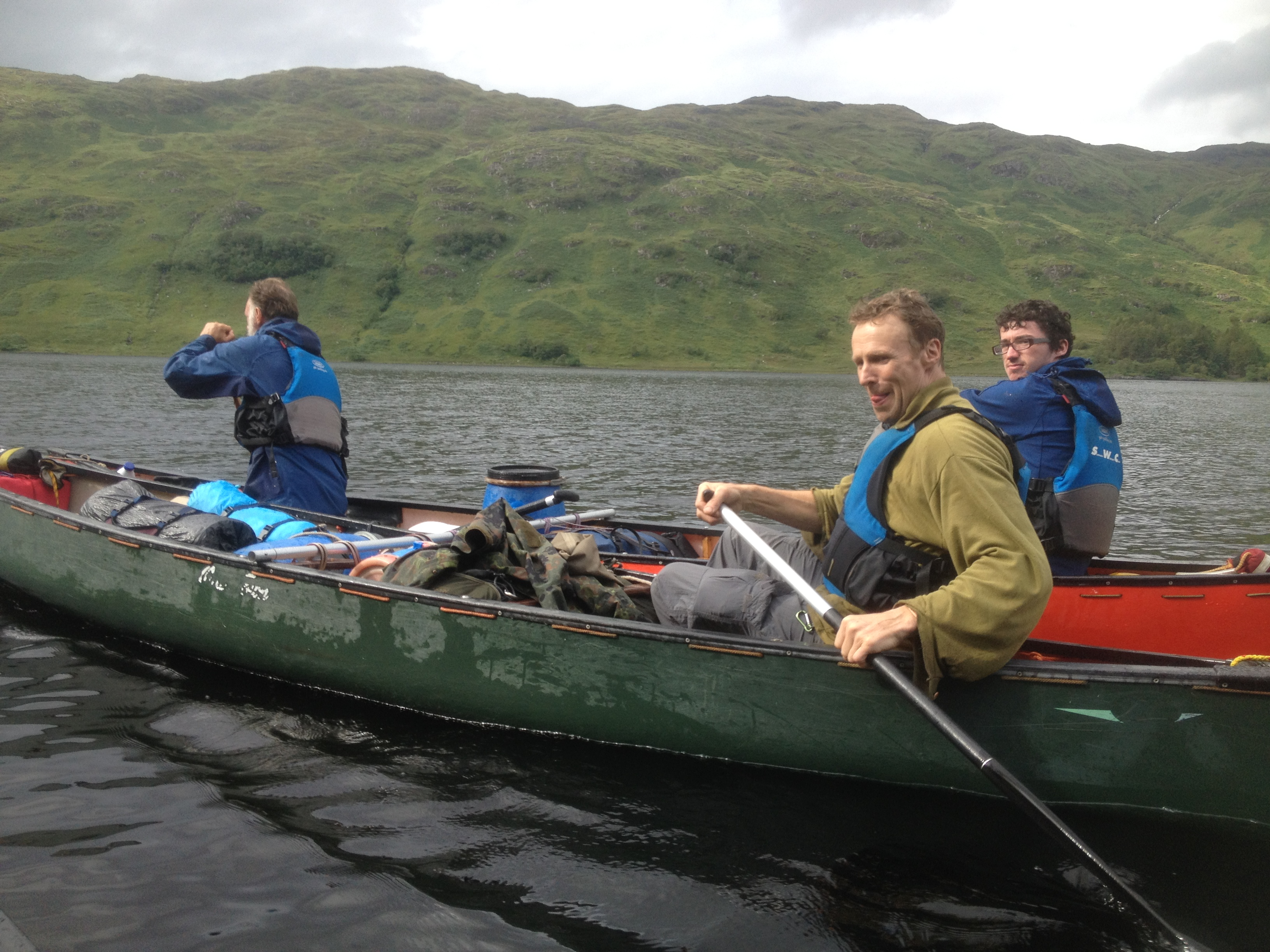 Loch Shiel Scotland canoe bushcraft
