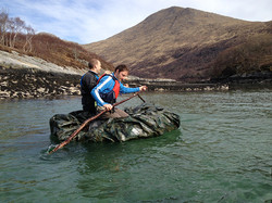 Island Survival Stag Do Scotland