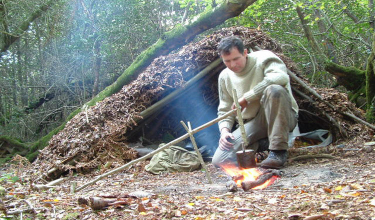 advanced bushcraft course Sussex