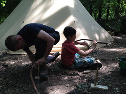 father son survival course gift day