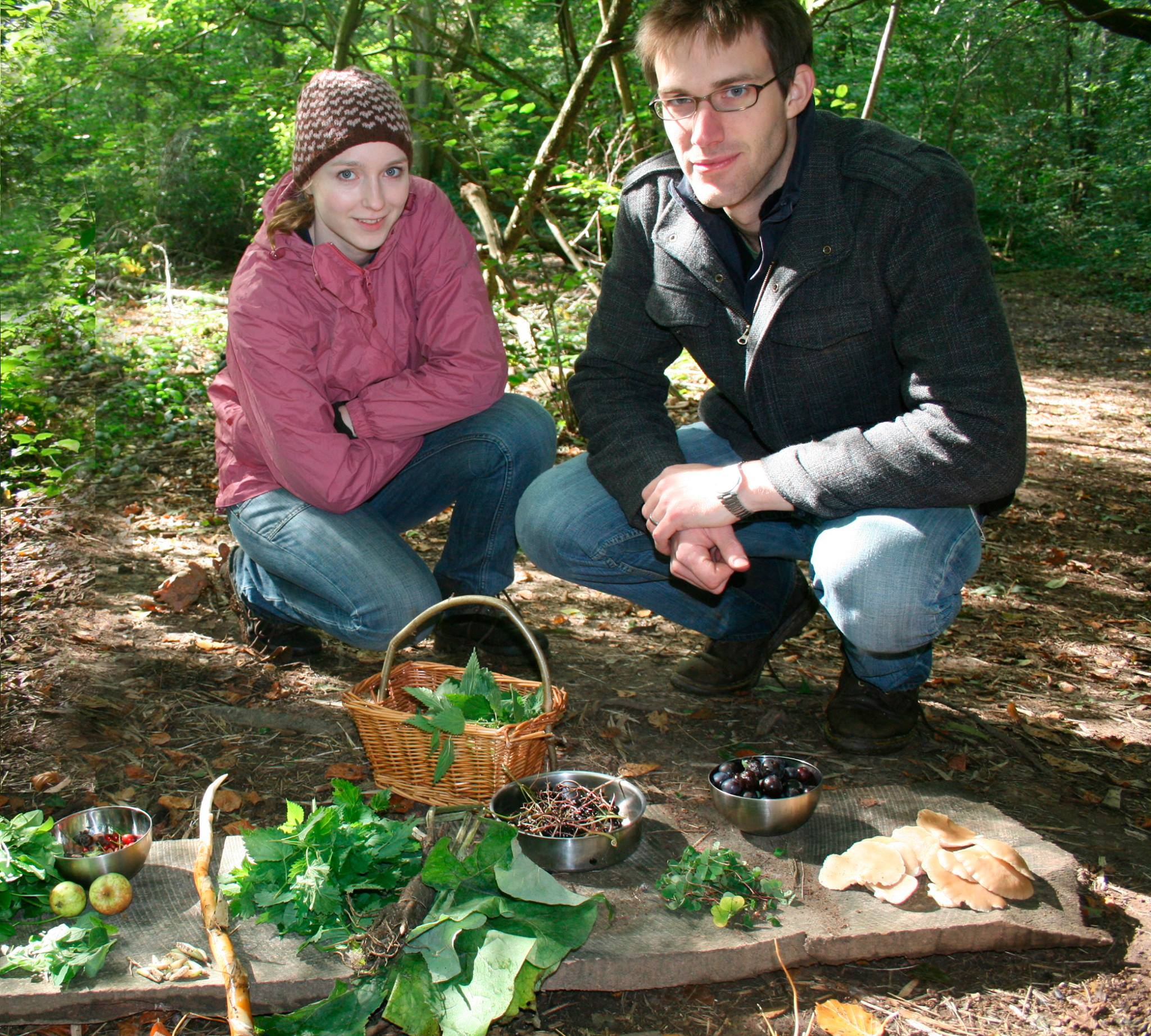 Wild food woodland nature private