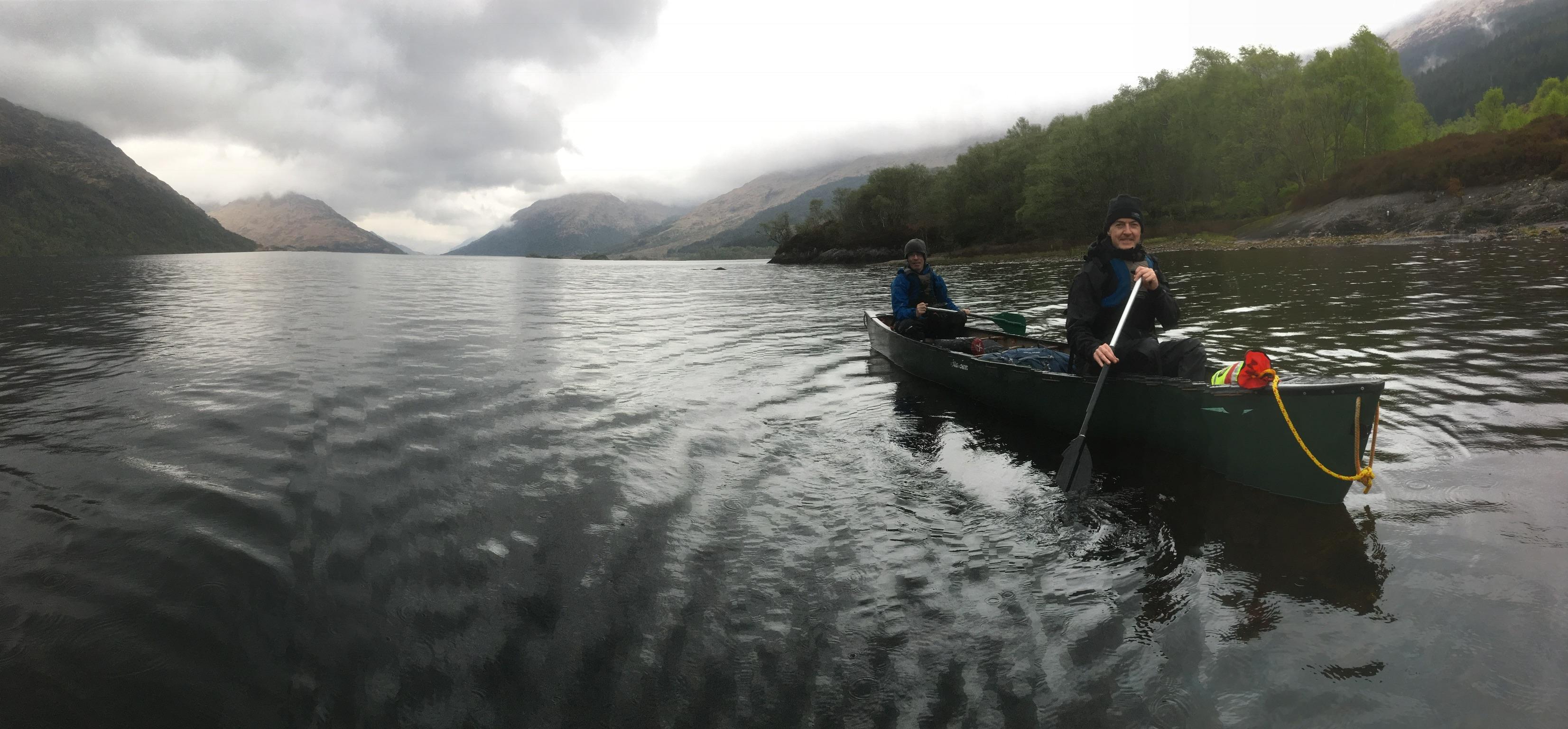 Canoe expedition Bushcraft Scotland