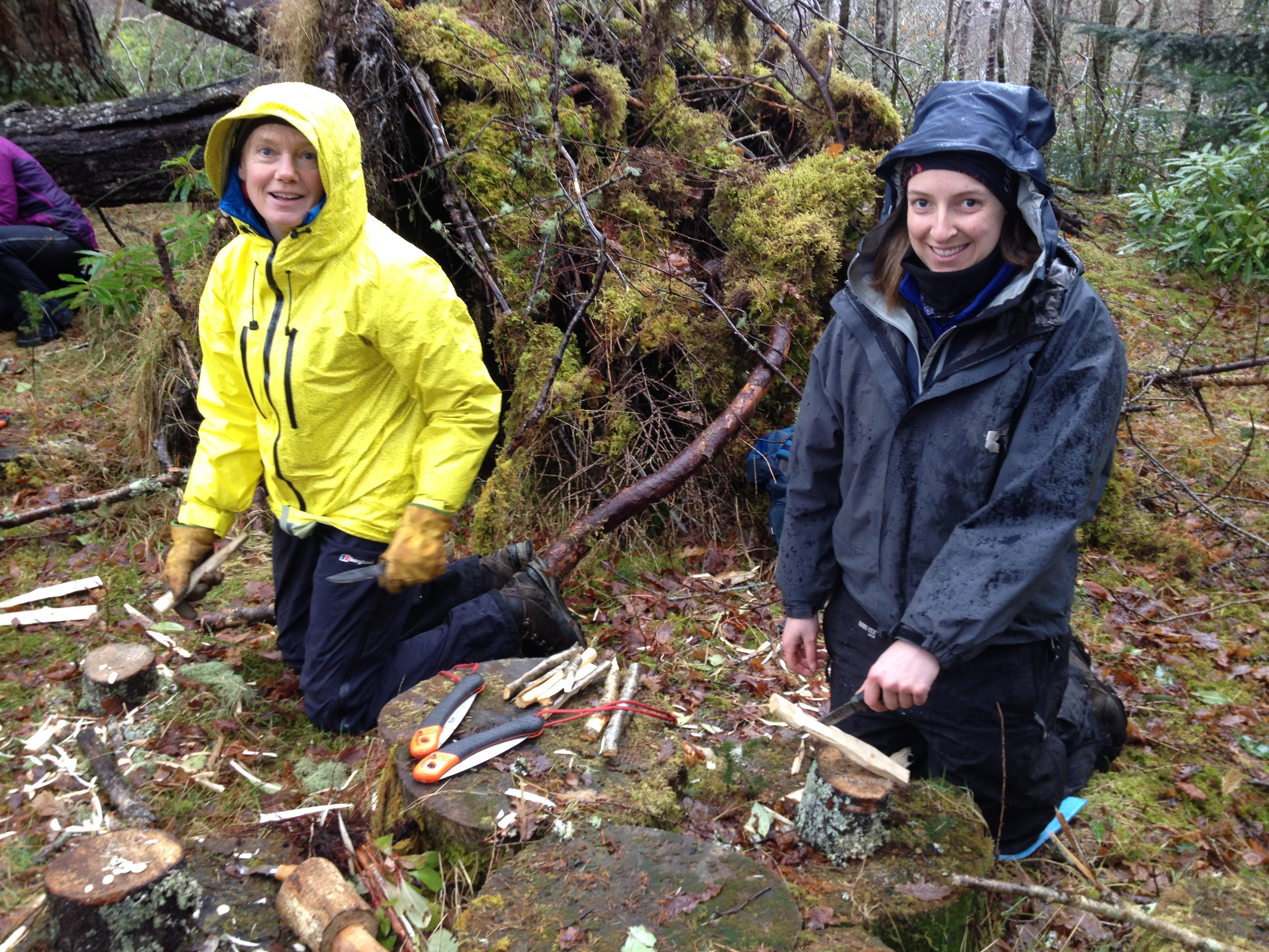 Bushcraft Courses Scotland