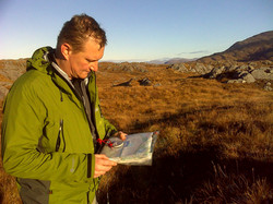 Mountain navigation day course Scot