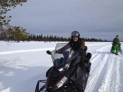 Arctic survival expedition Sweden