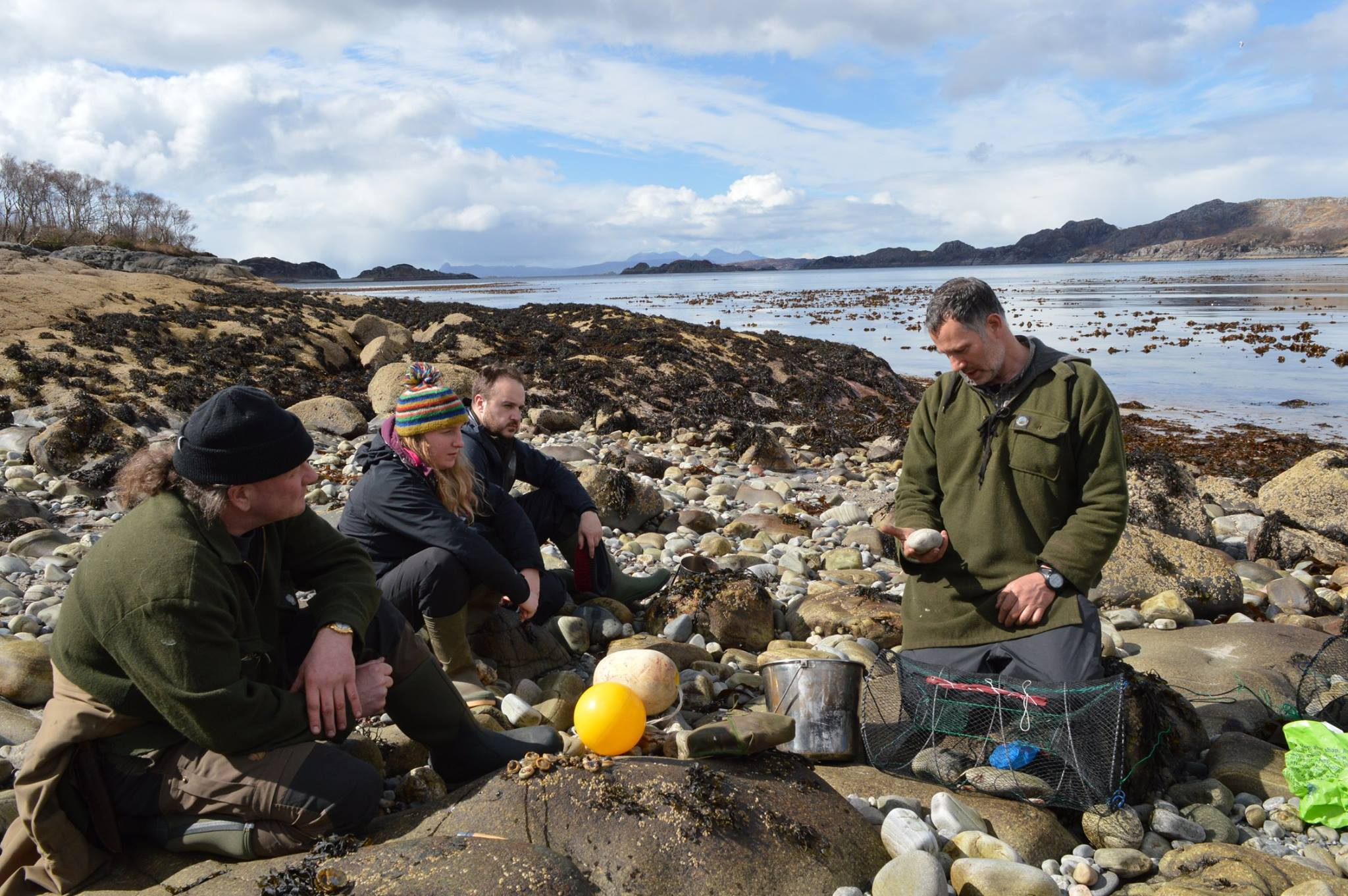 coastal survival skills course scot
