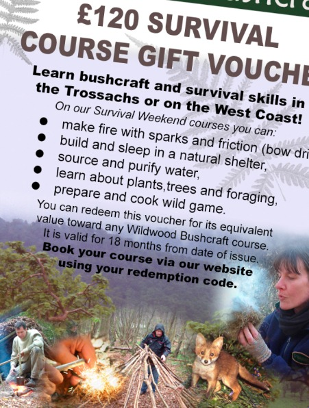 Bushcraft Gift Vouchers
