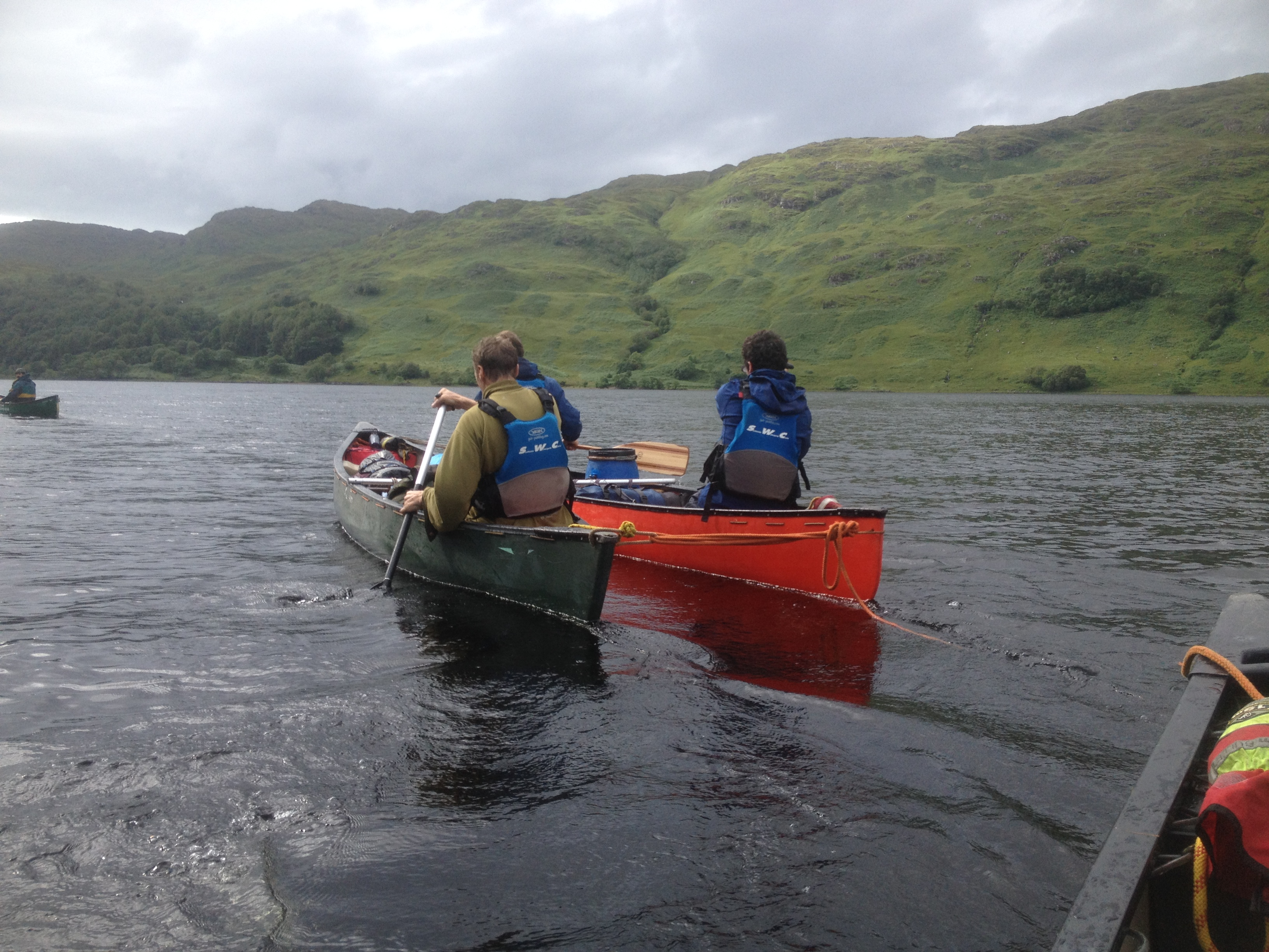 Loch Shiel Scotland canoe expedition