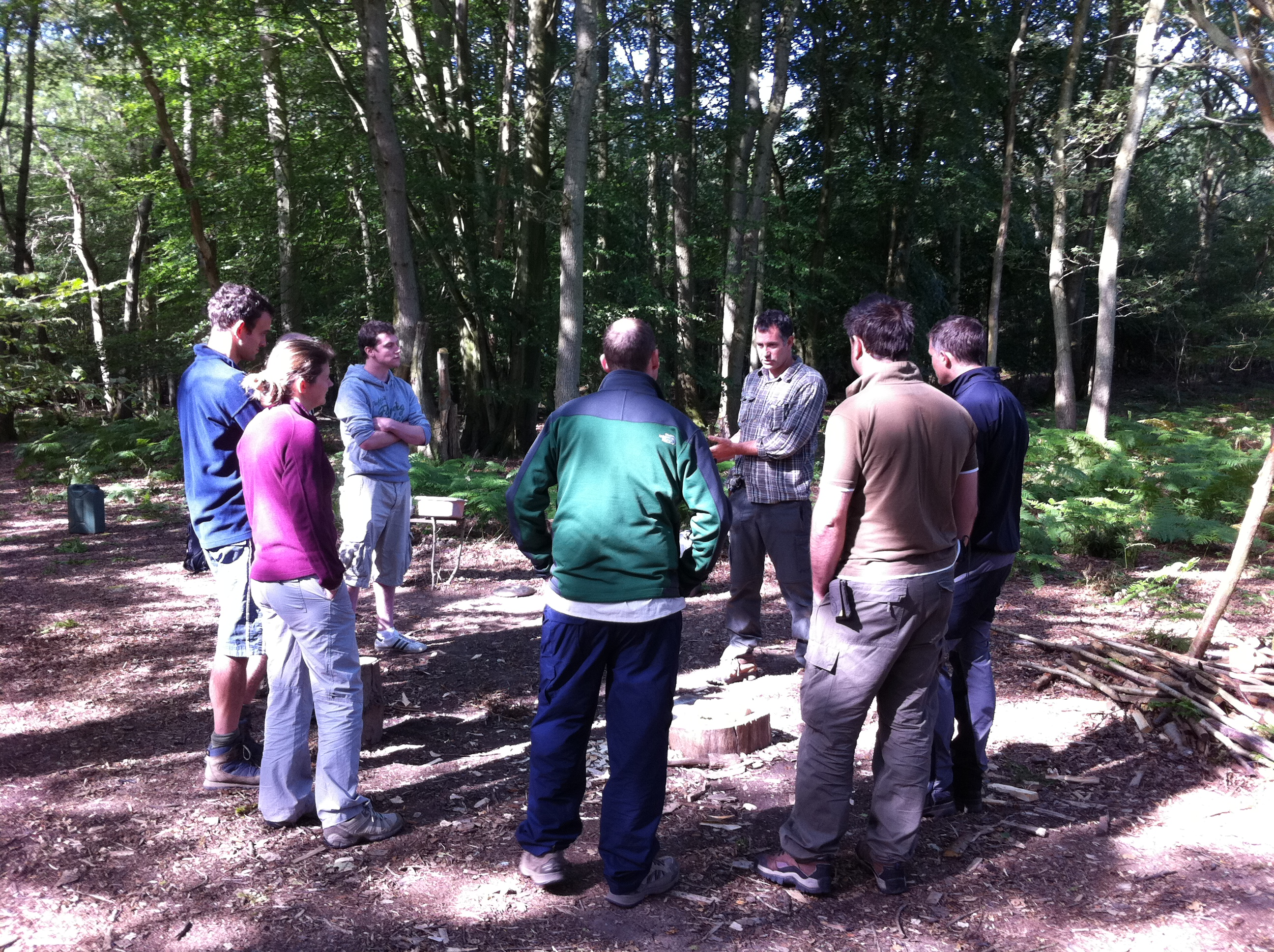 bushcraft team building experiences