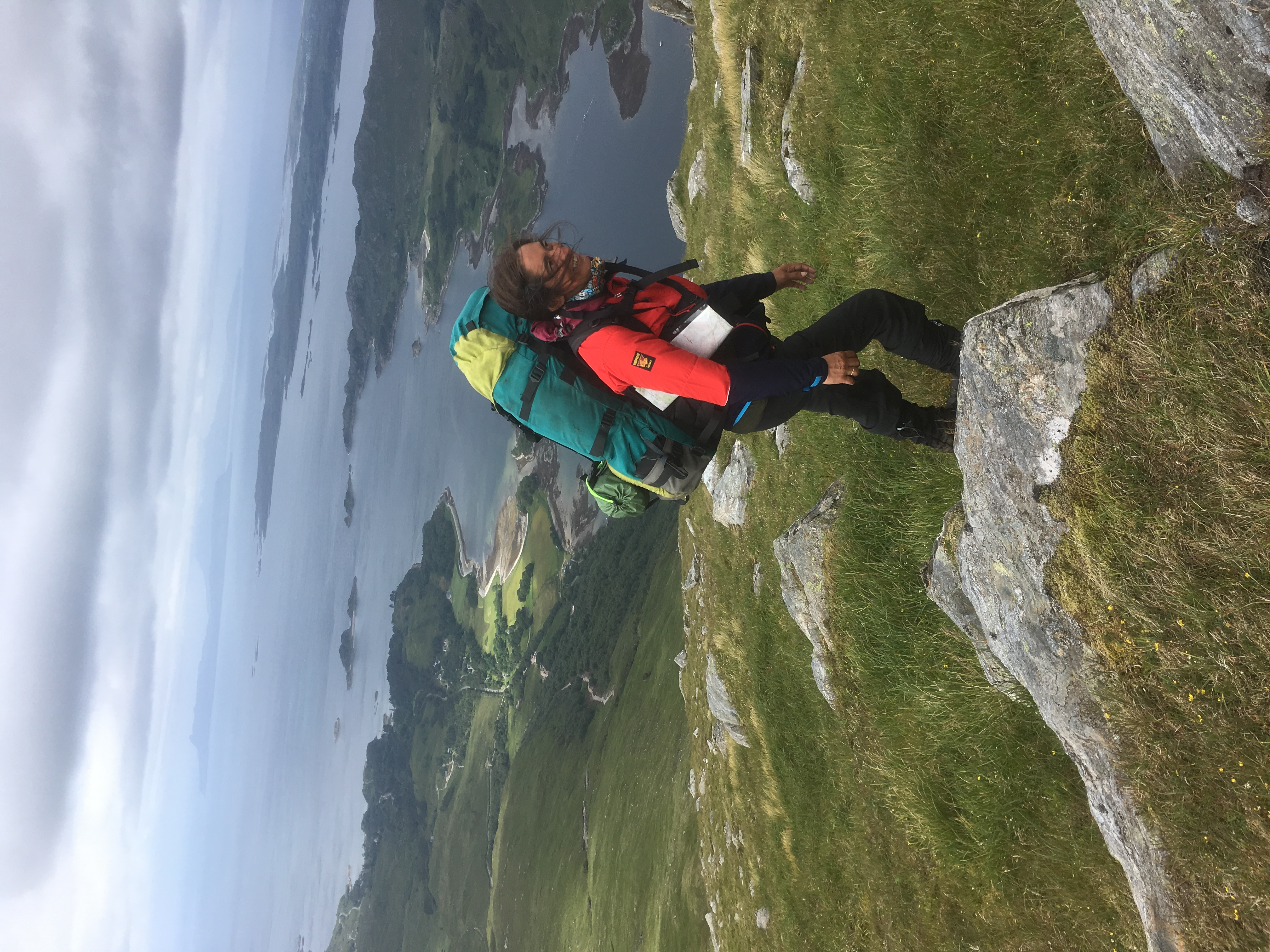 Mountain navigation day course U.K.