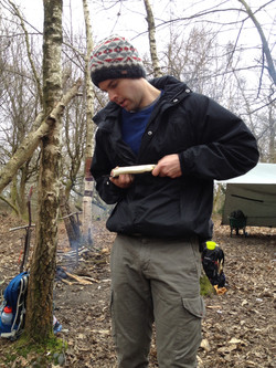 axe craft day course with carving
