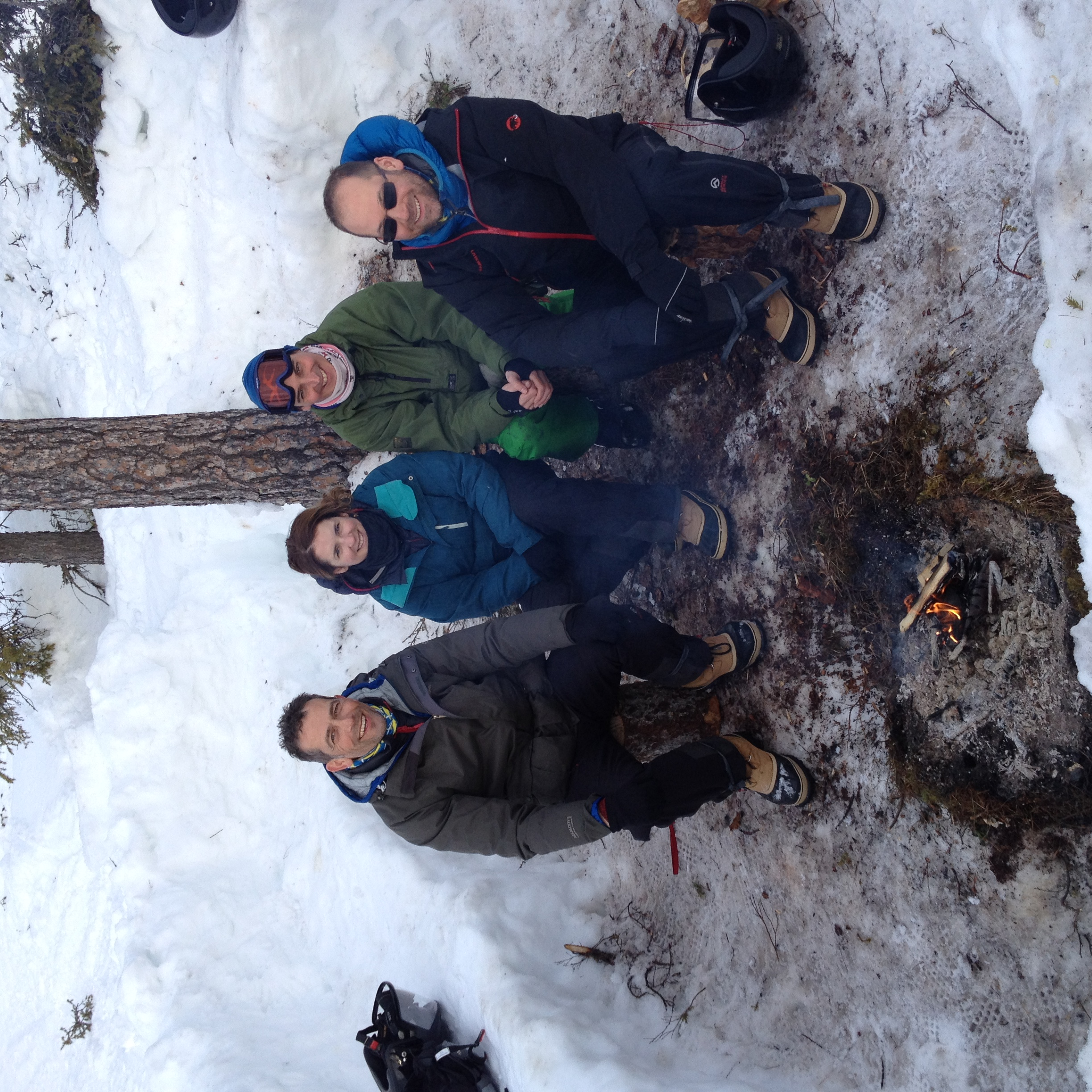 Arctic survival team building course