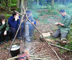 learn bushcraft skills in a day