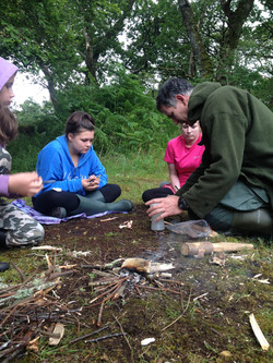 family bushcraft skills course gifts