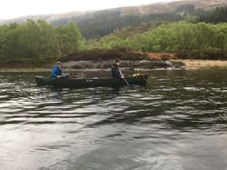 Bushcraft Scotland canoe expedition