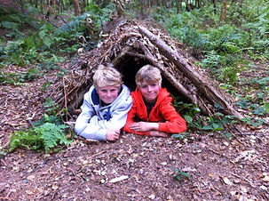 Family Bushcraft Weekend in Sussex