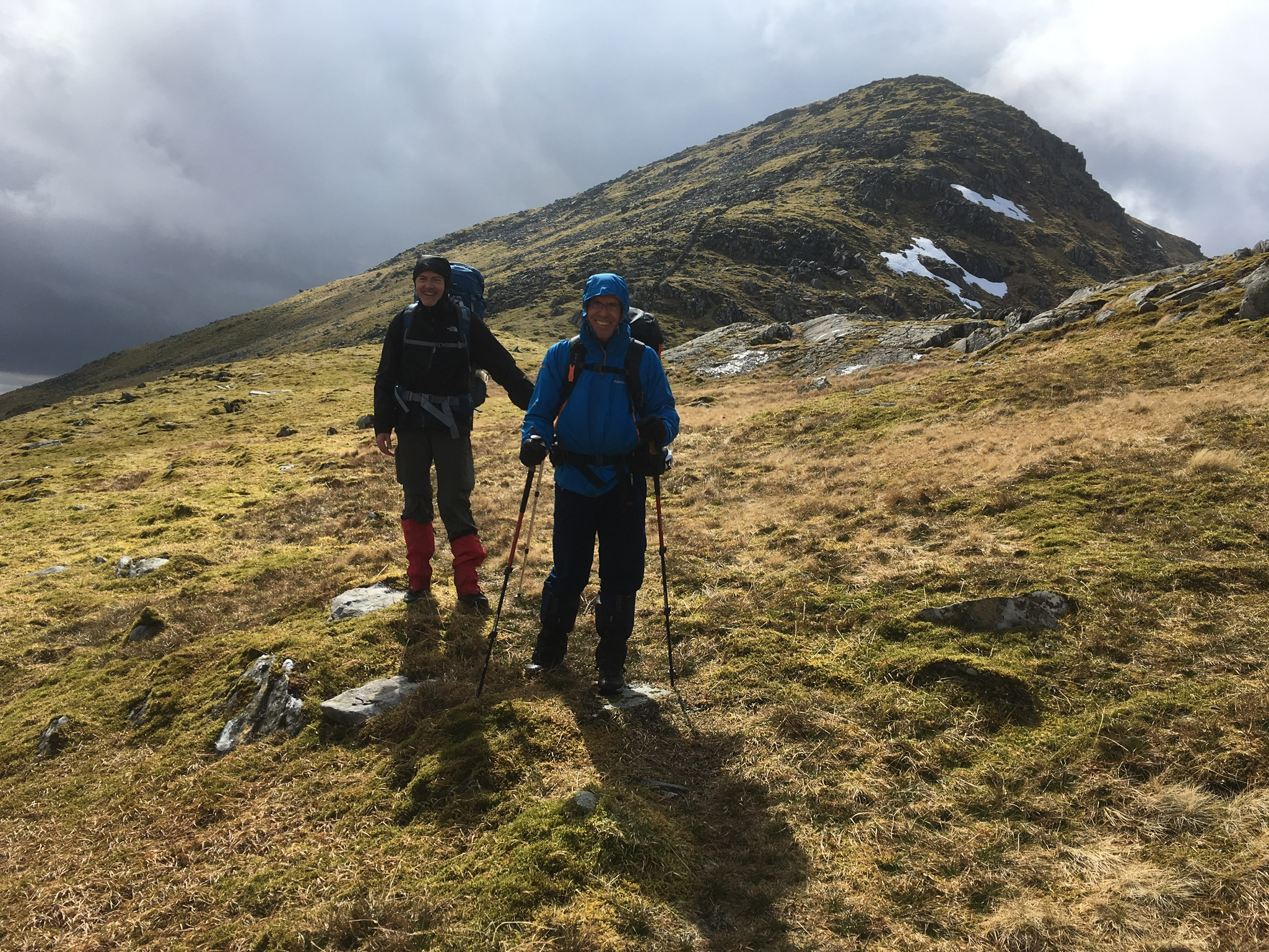 Mountain loch adventure course Scot