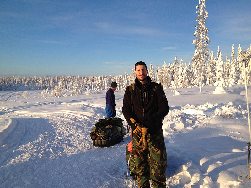 Arctic Adventurer expedition Sweden