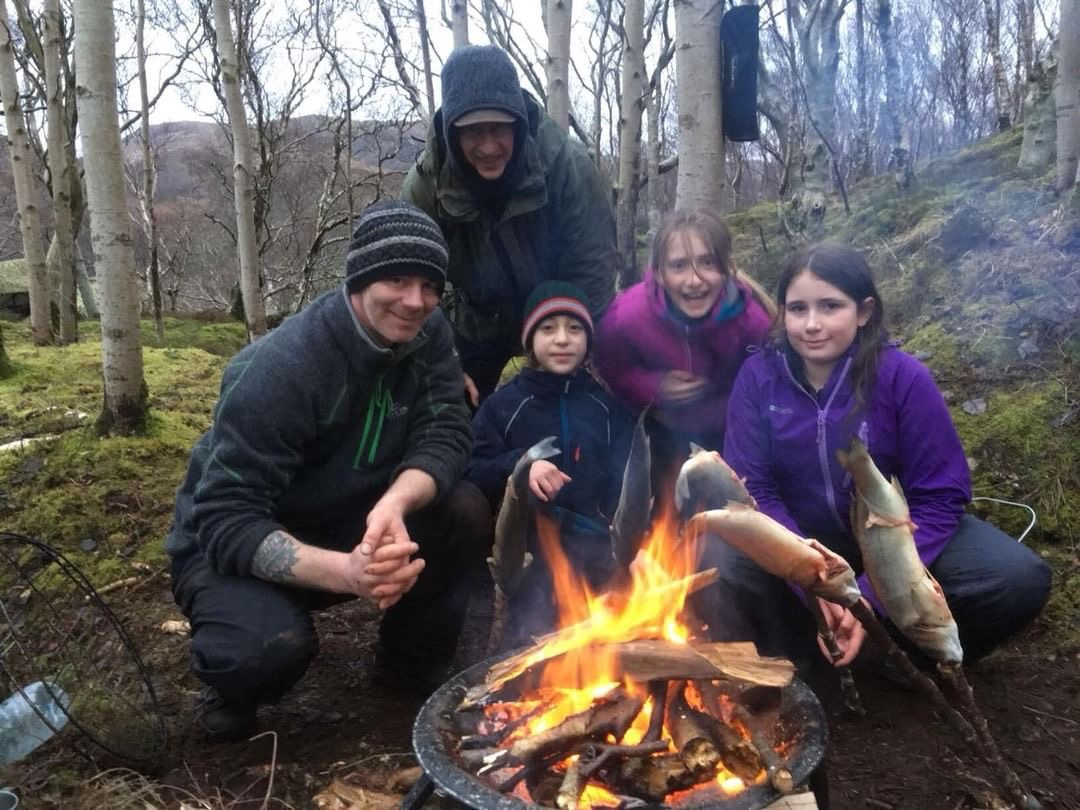 Family Bushcraft Scotland