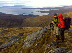 mountain guiding west coast Scot