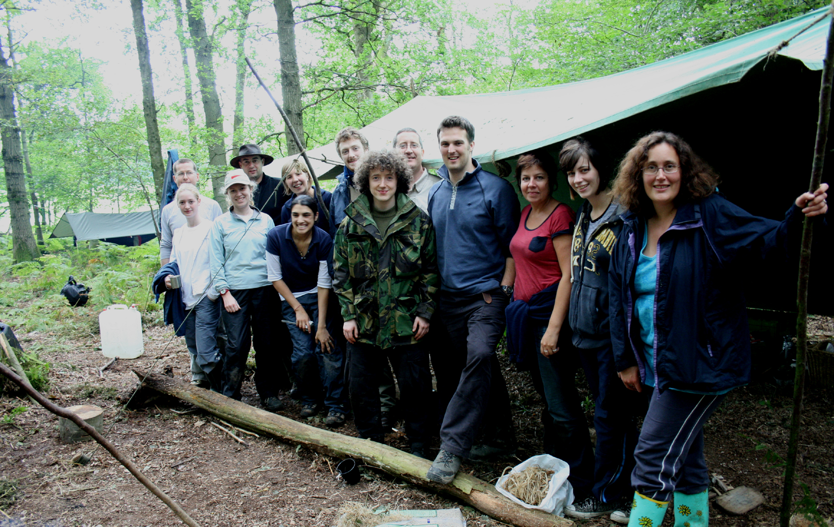 bushcraft survival team away days