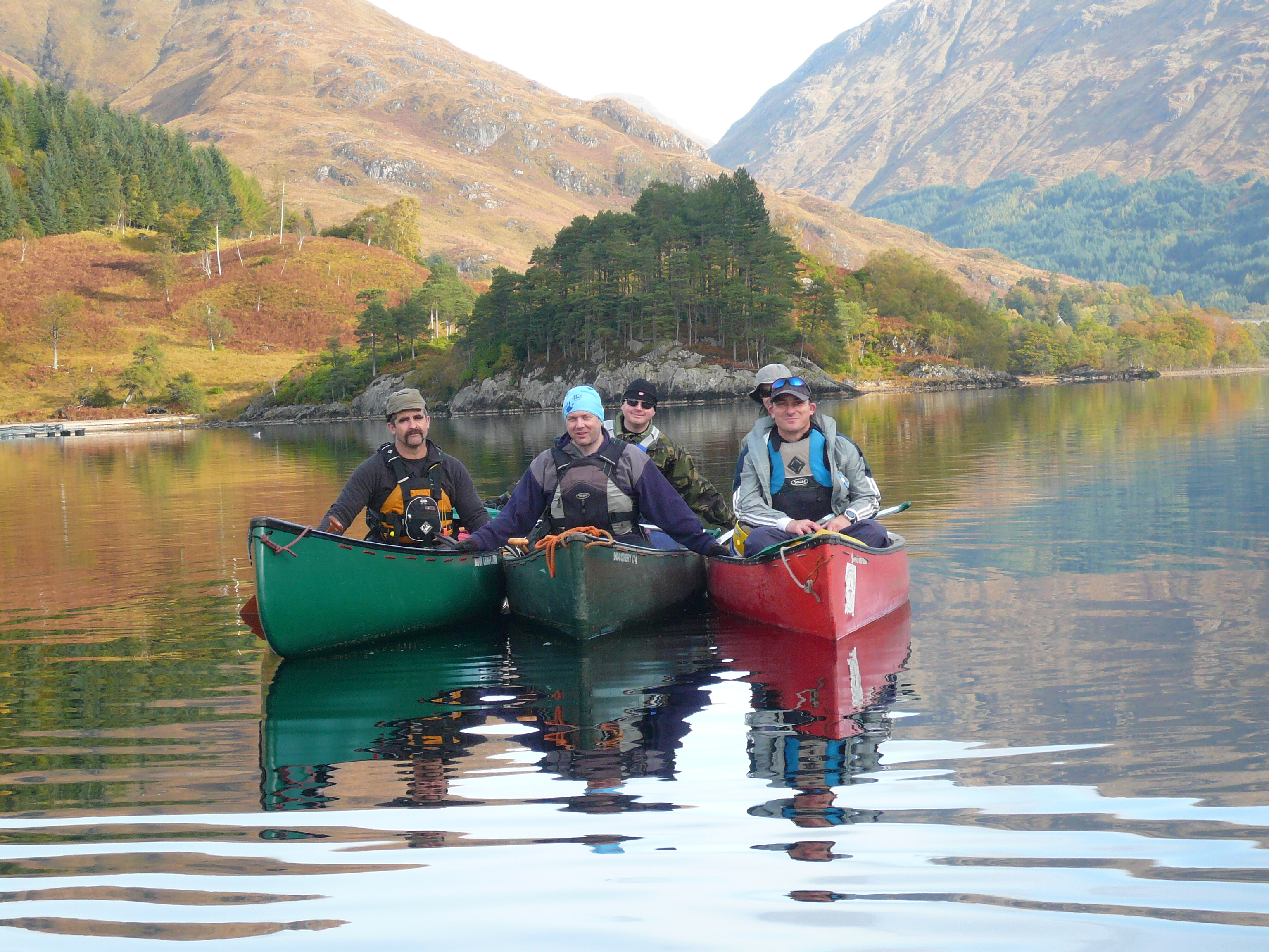 setting off Glenfinnan Loch Shiel