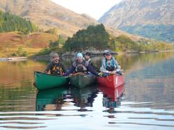 setting off Glenfinnan Loch Shiel