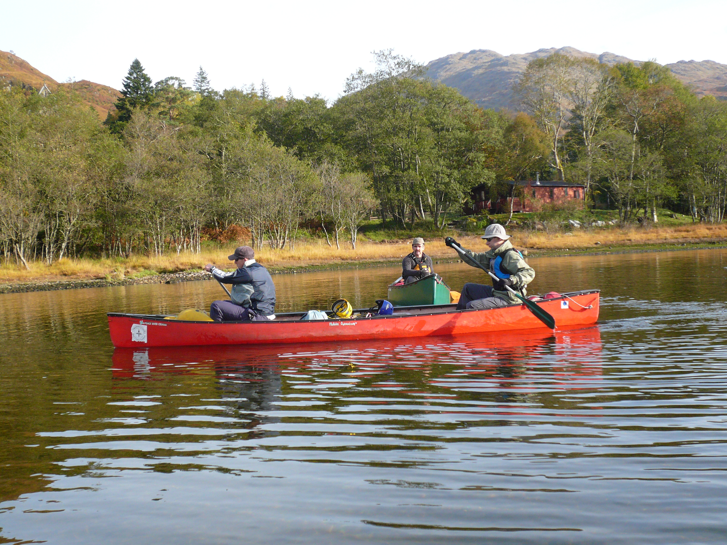 Loch Shiel bushcraft canoe journey