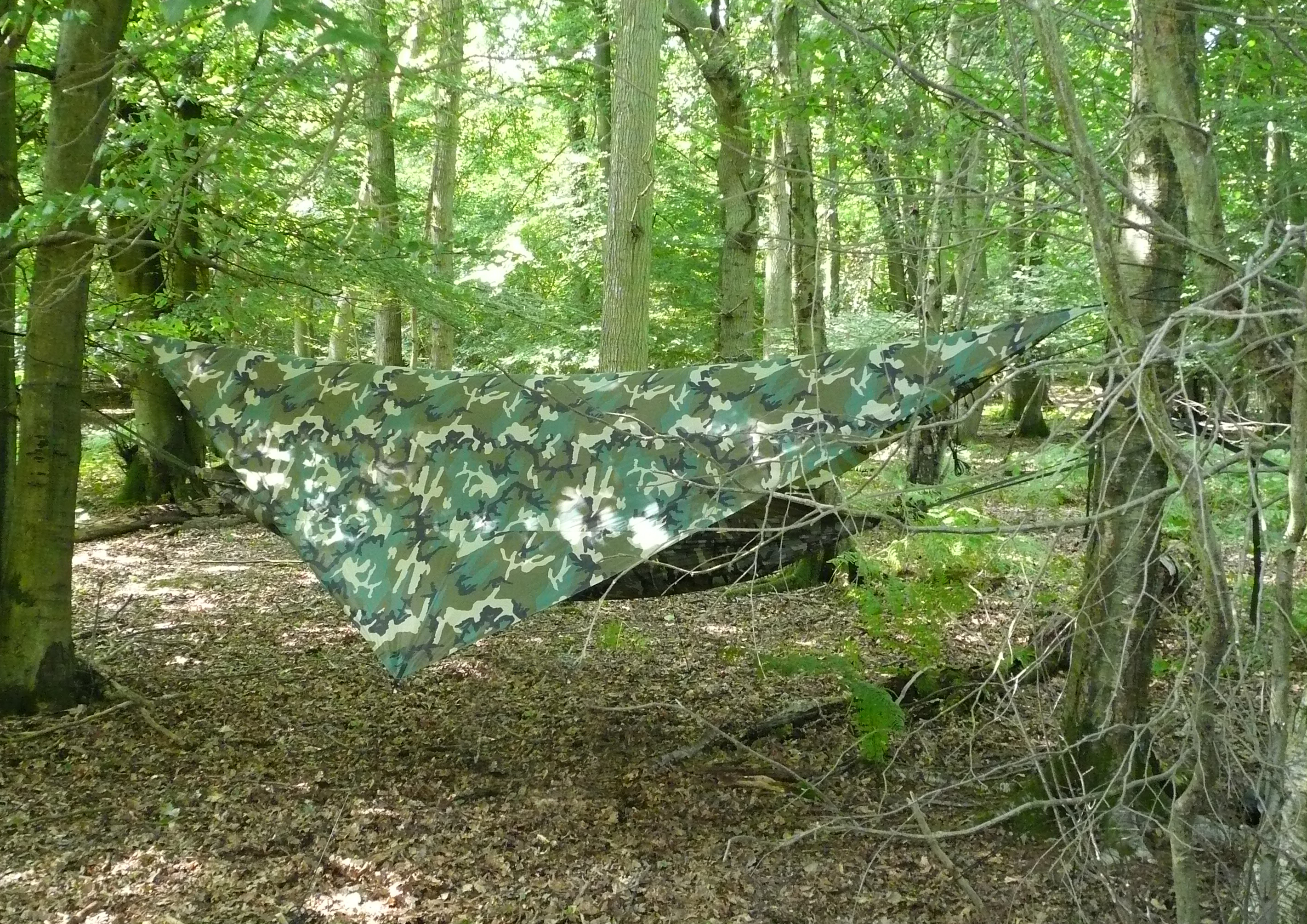 learn to put up hammock bushcraft