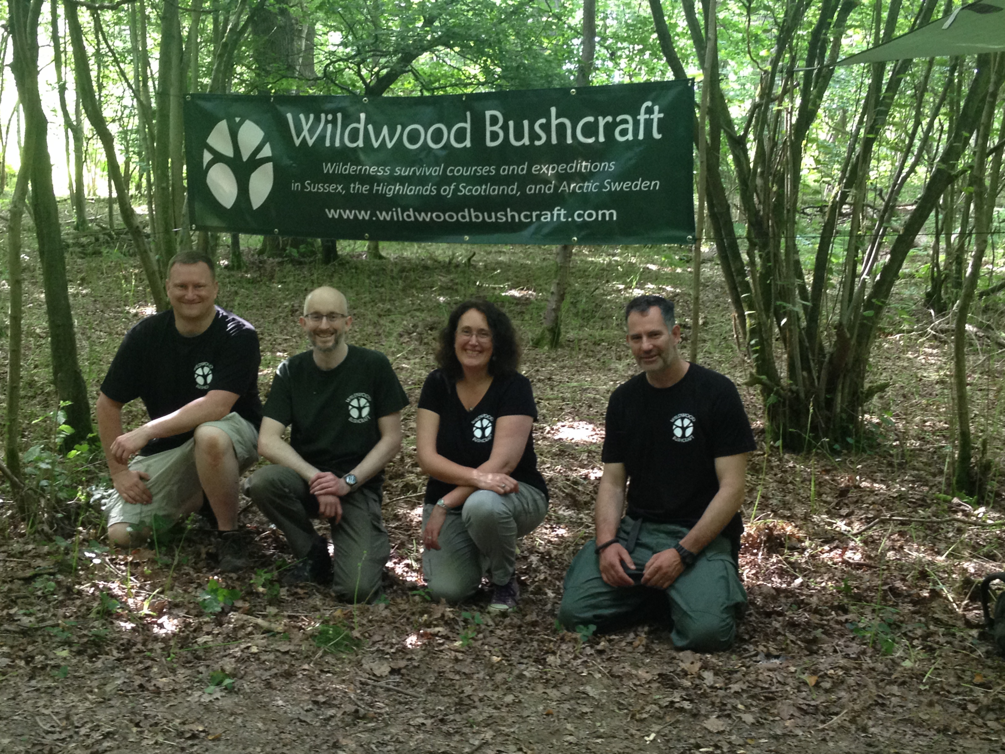wildwood bushcraft team building day