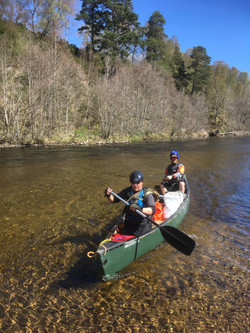 River Spey canoe classic journey