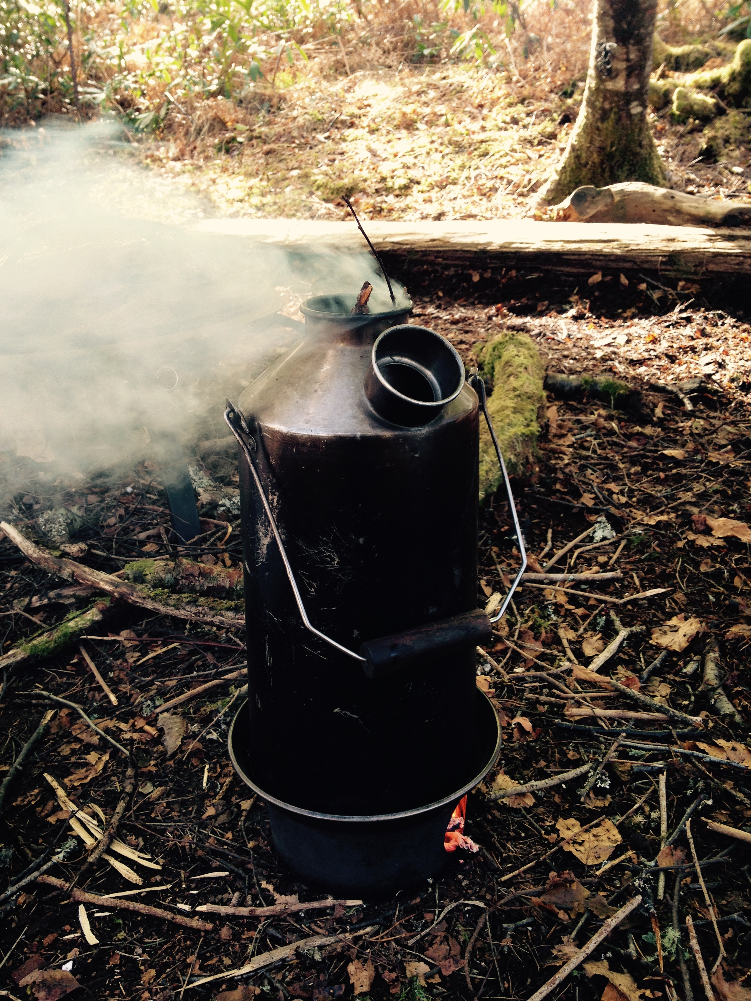 kelly kettle bushcraft adventures