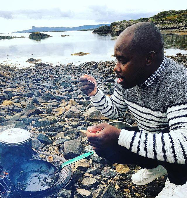 Tasting Foraged Shellfish