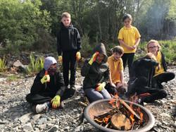 Campfire school day trip bushcraft