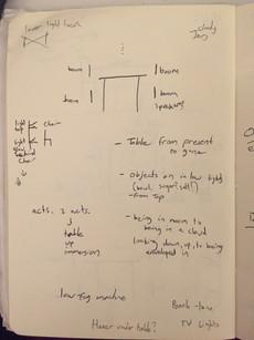 Overcast notebook sketch