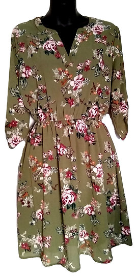 Tempted Brand Floral Dress