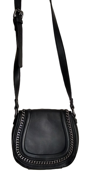 French Connection Black Side Purse