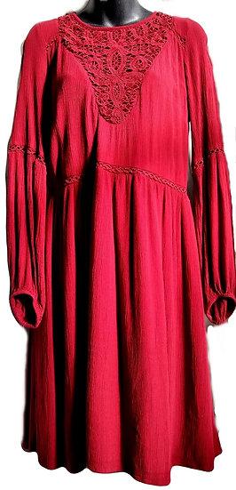 American Eagle Burgundy Dress