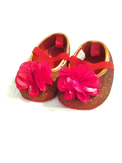 Baby Red Sparkle Shoes