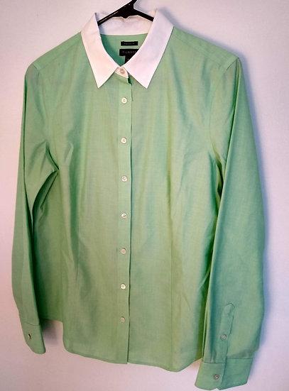 Talbots Size 8 Mint Green