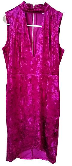 Red Felt Dress Medium