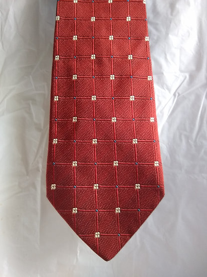 Red Checkered Tie