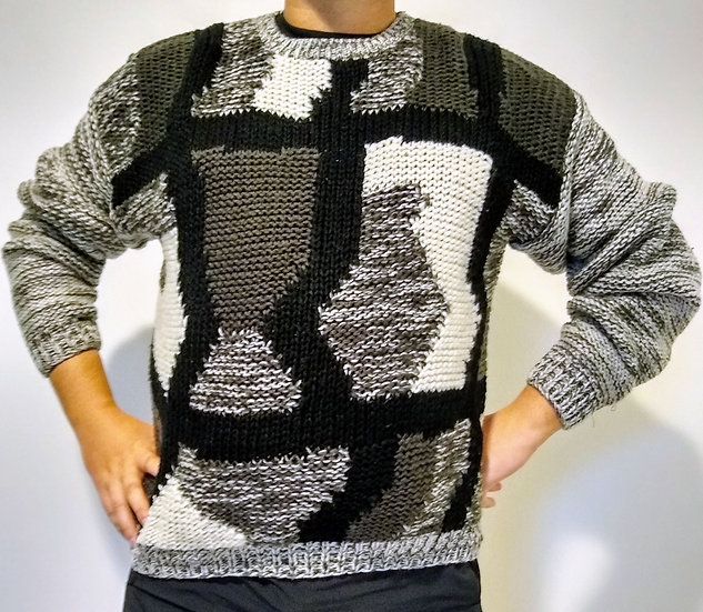 Mens Sweater Front View